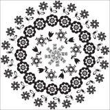 Modello circolare per vari scopi, isola Fotografie Stock Libere da Diritti