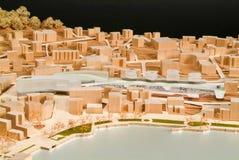 Modello circostante del sito per la presentazione architettonica Fotografia Stock Libera da Diritti