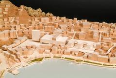Modello circostante del sito per la presentazione architettonica Immagini Stock Libere da Diritti