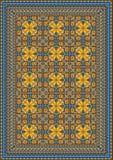 Modello classico pomposo per tappeto Fotografia Stock