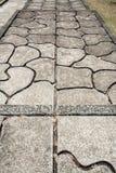 Modello composto dalla pavimentazione fotografia stock