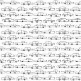 Modello con le automobili di vettore illustrazione di stock