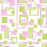 Modello con le forme geometriche Fotografia Stock