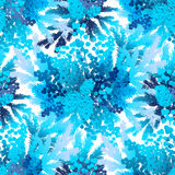 Modello congelato inverno Immagini Stock