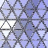modello continuo dei triangoli Copertura, moderna in violetto-chiaro Immagine Stock