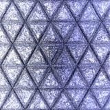 Modello continuo ornamentale del profilo dei triangoli di scarabocchio fotografie stock