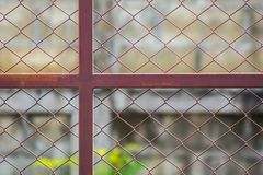 Modello in cortile Fotografia Stock Libera da Diritti