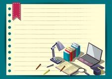 Modello creativo di progettazione della carta di vettore dell'opuscolo dell'aletta di filatoio del modello di rapporto per il inf Fotografia Stock