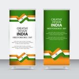 Modello creativo di vettore dell'illustrazione di progettazione del manifesto indipendente di giorno dell'India royalty illustrazione gratis