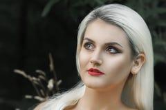Modello Cute Make di Brunnete della donna delle donne della ragazza bello su immagine stock