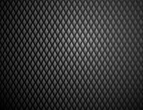 Modello d'acciaio del diamante nero brillante fotografie stock