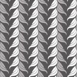 Modello d'annata astratto senza cuciture di gray di arte Fotografie Stock Libere da Diritti