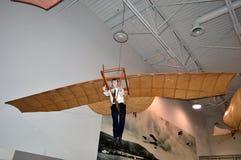 Modello d'annata dell'aeroplano al museo di aviazione di Hiller, San Carlo, CA Fotografie Stock