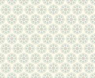Modello d'annata dolce di rettangolo e del fiore su fondo pastello Fotografie Stock