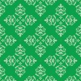 Modello d'annata senza cuciture verde Illustrazione Vettoriale