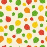 Modello dalle foglie di autunno Fotografia Stock Libera da Diritti