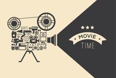 Modello decorativo del cinema Fotografia Stock Libera da Diritti
