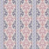 Modello decorato a strisce senza cuciture astratto Fondo ornamentale senza cuciture con le bande illustrazione di stock