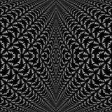 Modello deformato diagonale di pizzo simmetrica di progettazione Fotografia Stock Libera da Diritti