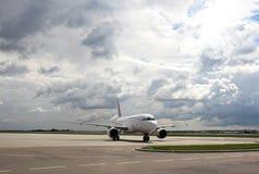 Modello degli aerei di Air France Airbus A319 Fotografia Stock Libera da Diritti