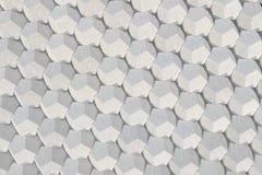 Modello degli elementi esagonali concreti Fotografia Stock