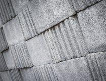 Modello dei blocchi in calcestruzzo Fotografie Stock