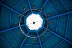 Modello dei bordi di legno sul soffitto Fotografia Stock Libera da Diritti