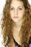 Modello dei capelli Immagini Stock