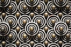 Modello dei cerchi Fotografia Stock Libera da Diritti