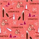 Modello dei cosmetici Immagini Stock Libere da Diritti