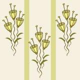 Modello dei fiori delicati Fotografia Stock