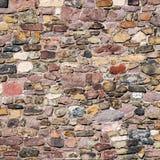 Modello dei mattoni e delle pietre alla vecchia parete di medio evo, Magdeburgo, fotografia stock libera da diritti