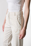 Modello dei pantaloni delle donne Immagine Stock Libera da Diritti