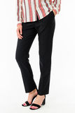 Modello dei pantaloni delle donne Fotografia Stock Libera da Diritti