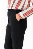 Modello dei pantaloni delle donne Immagini Stock Libere da Diritti