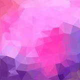 Modello dei triangoli delle forme geometriche colorful illustrazione vettoriale