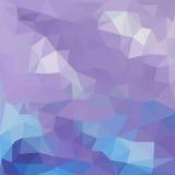 Modello dei triangoli delle forme geometriche colorful illustrazione di stock