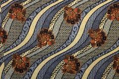 Modello del batik Fotografia Stock Libera da Diritti