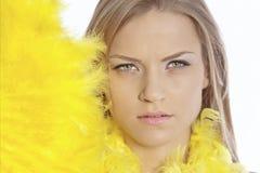 Modello del blonde di modo Fotografia Stock Libera da Diritti