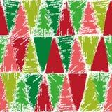 Modello del bollo di colore di Natale Immagine Stock Libera da Diritti