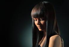 Modello del Brunette Fotografia Stock Libera da Diritti