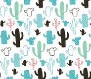 Modello del cactus royalty illustrazione gratis