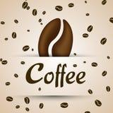 Modello del caffè Fotografia Stock