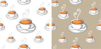 Modello del caffè Fotografie Stock Libere da Diritti
