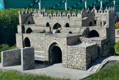 Modello del cancello di Damasco Immagine Stock