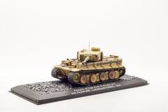 Modello del carro armato isolato Fotografia Stock