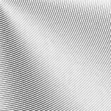 Modello del cerchio con le linee dinamiche e irregolari Circolare geometrica illustrazione vettoriale