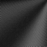 Modello del cerchio con le linee dinamiche e irregolari Circolare geometrica illustrazione di stock