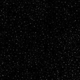 Modello del cielo di tiraggio stellato della mano, anelli di scarabocchio ed incroci senza cuciture in galassia e nello stile del royalty illustrazione gratis