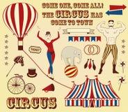 Modello del circo Immagini Stock